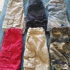 6 pairs of boys shorts